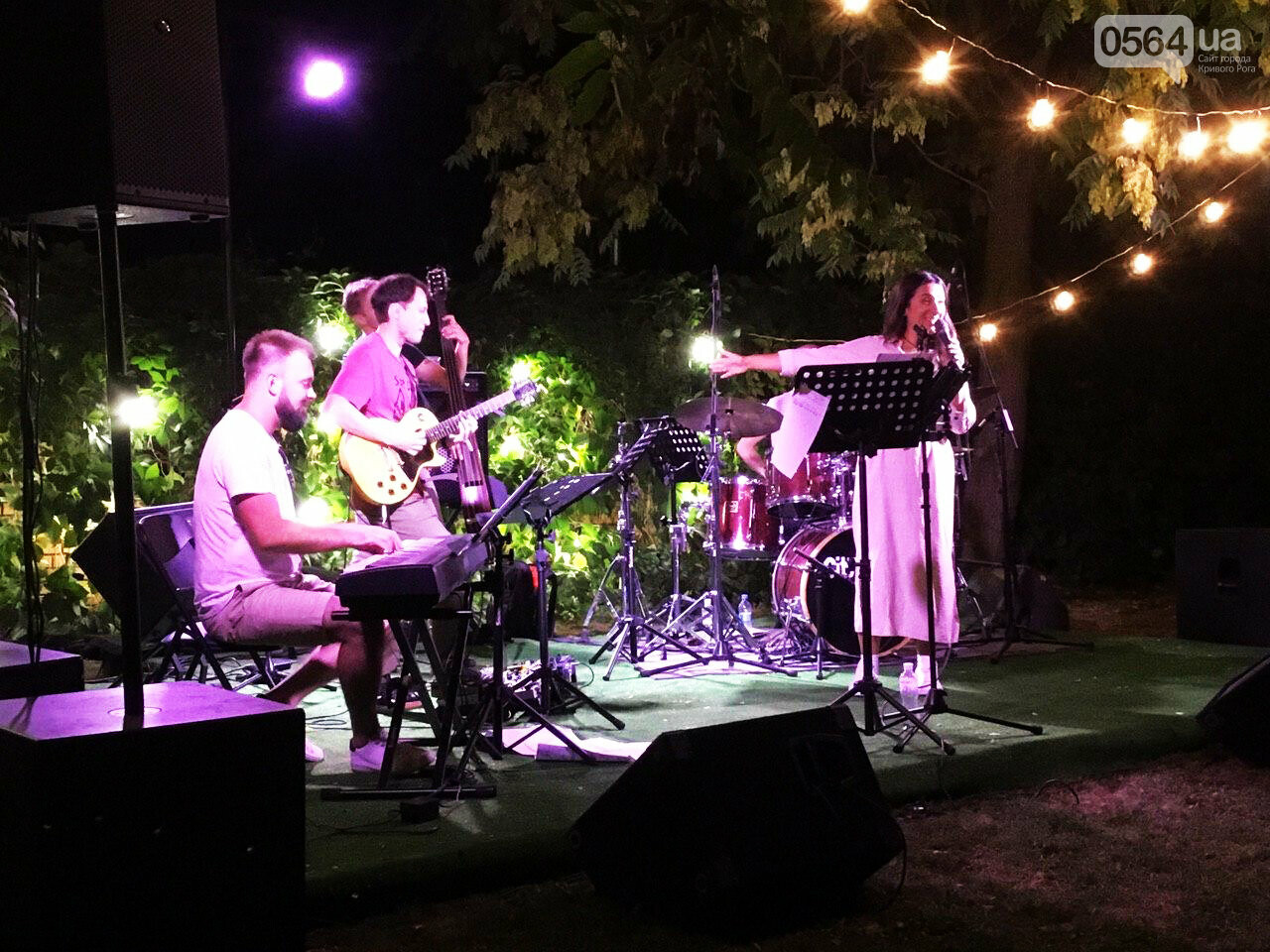 Под звездным небом криворожане наслаждались летним джазом от  Advantage Project, - ФОТО, ВИДЕО , фото-9