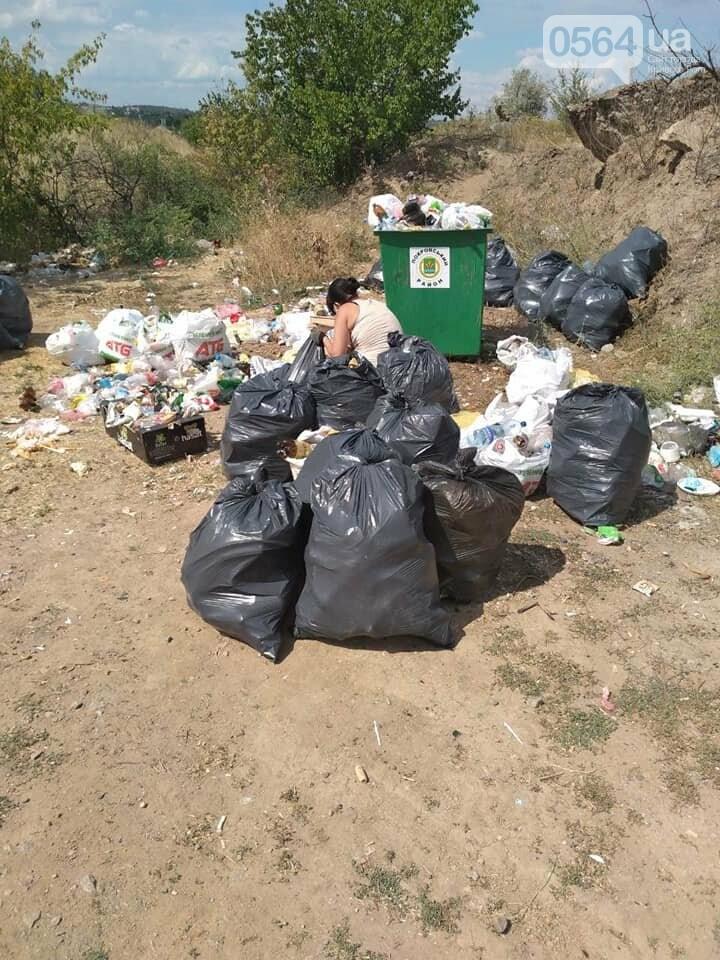 В Кривом Роге на Гранкарьере украли один из двух мусорных контейнеров, - ФОТО , фото-4