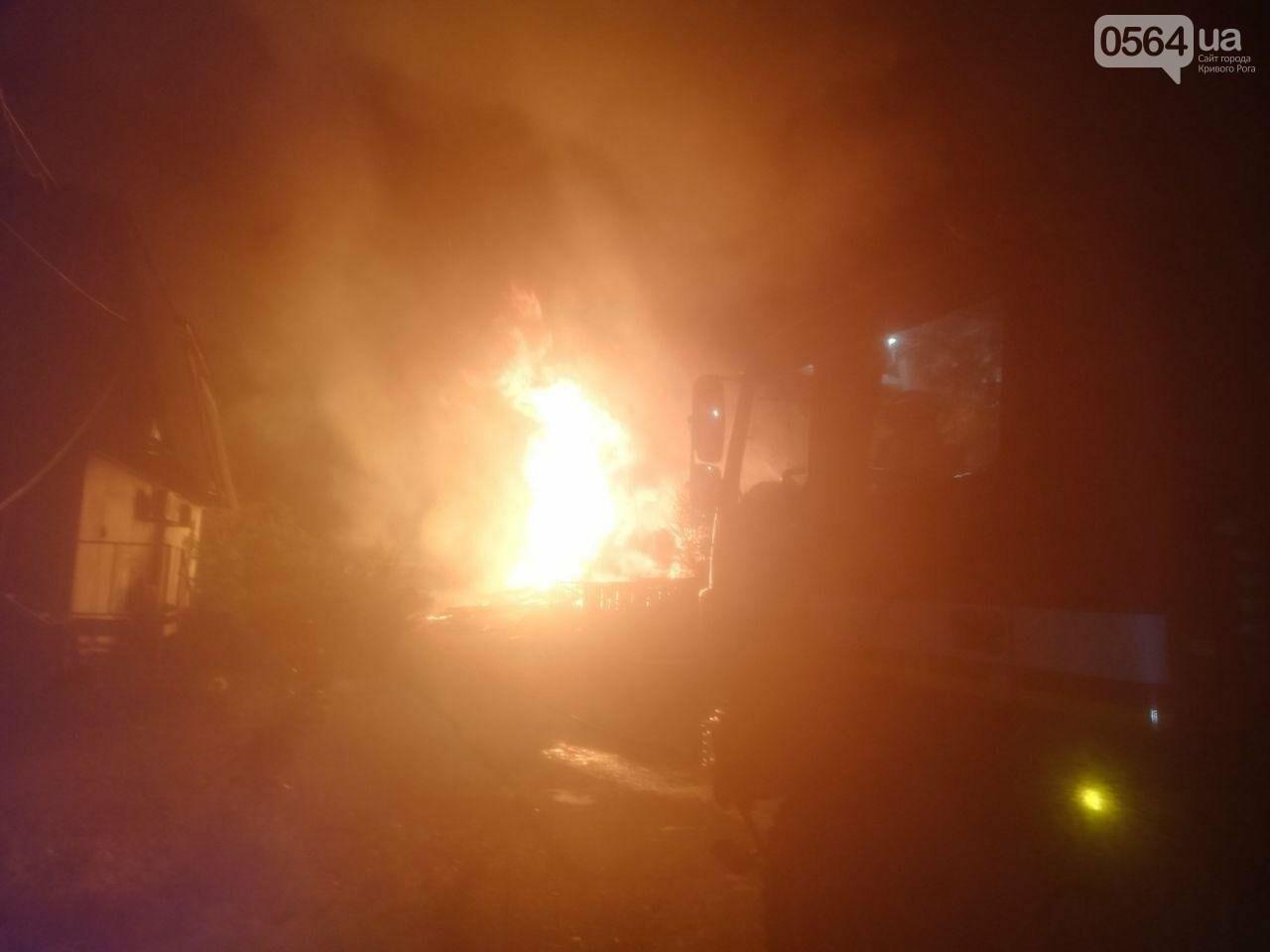 На деревообрабатывающем предприятии Кривого Рога огонь уничтожил несколько сотен квадратных метров бруса, - ФОТО, ВИДЕО, фото-2