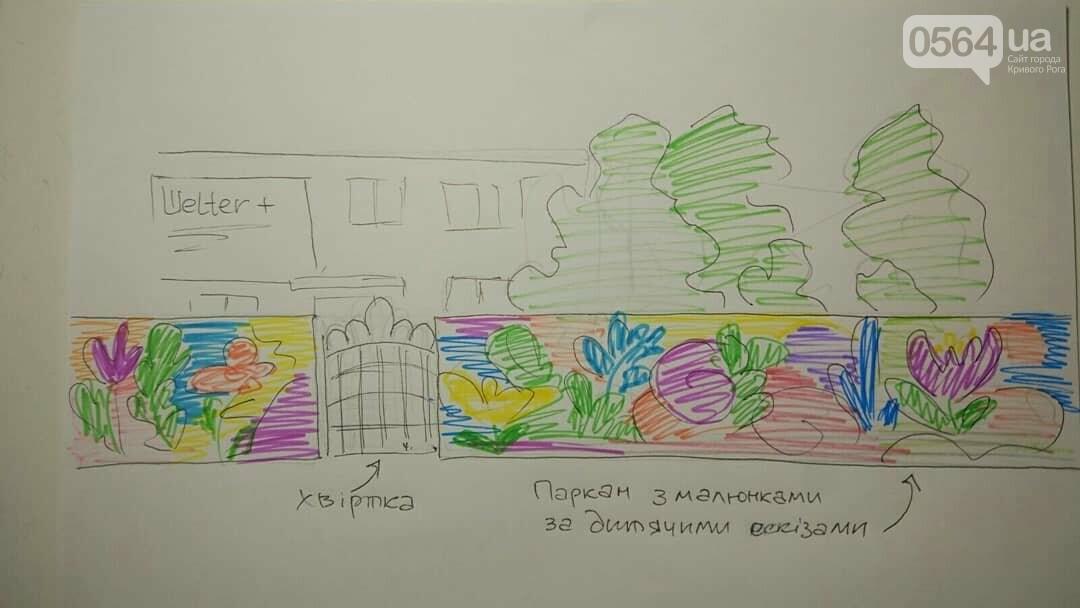 В Кривом Роге хотят создать Арт-площадку для детей и родителей. Нужна помощь, - ЭСКИЗЫ, ВИДЕО, фото-4