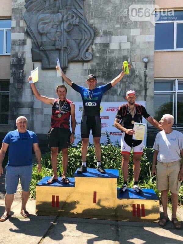 Велогонщики из Кривого Рога стали лучшими на чемпионате Украины среди ветеранов, - ФОТО, фото-2