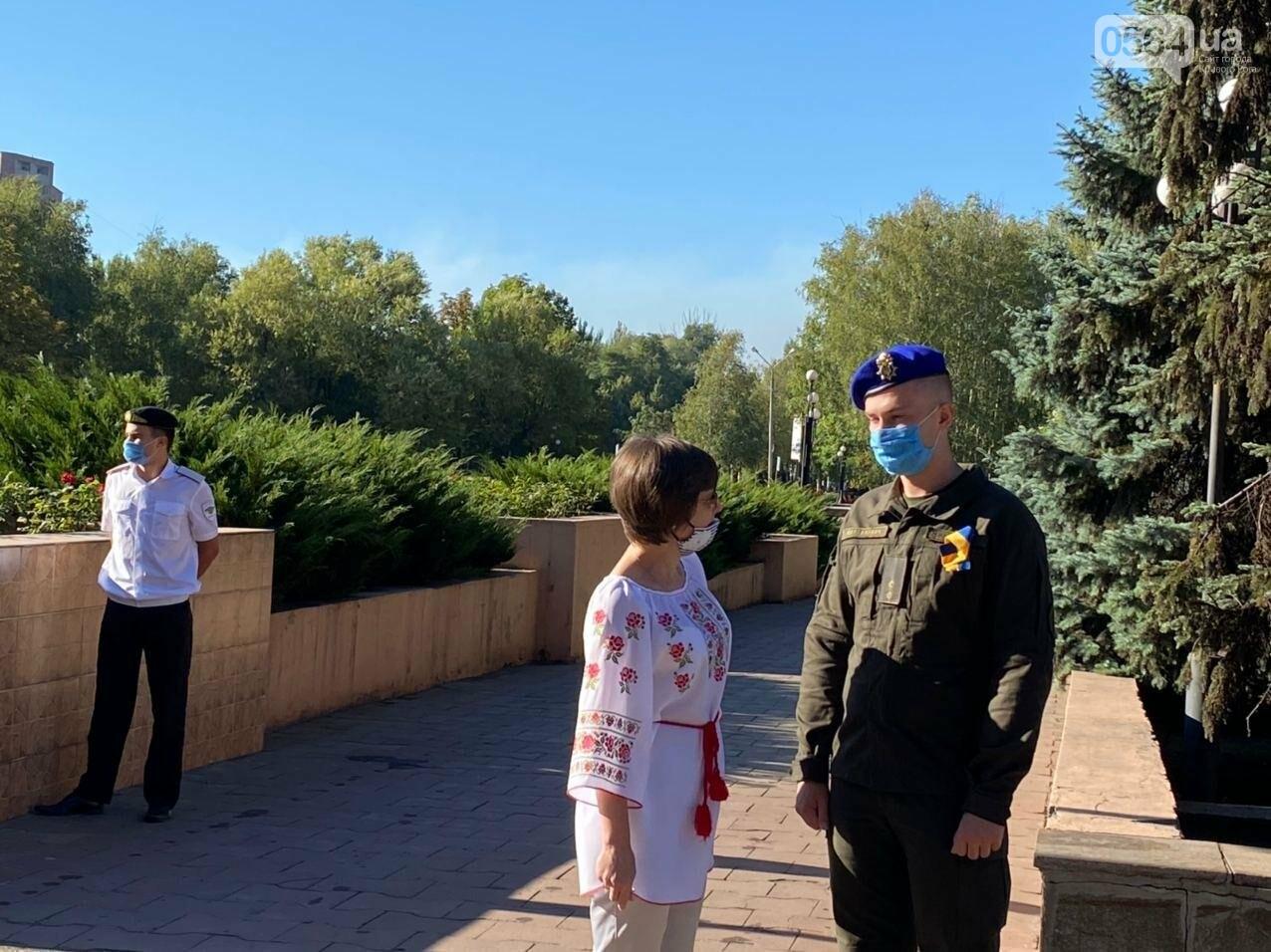 В Кривом Роге торжественно подняли Государственный Флаг Украины, - ФОТО, ВИДЕО, фото-8
