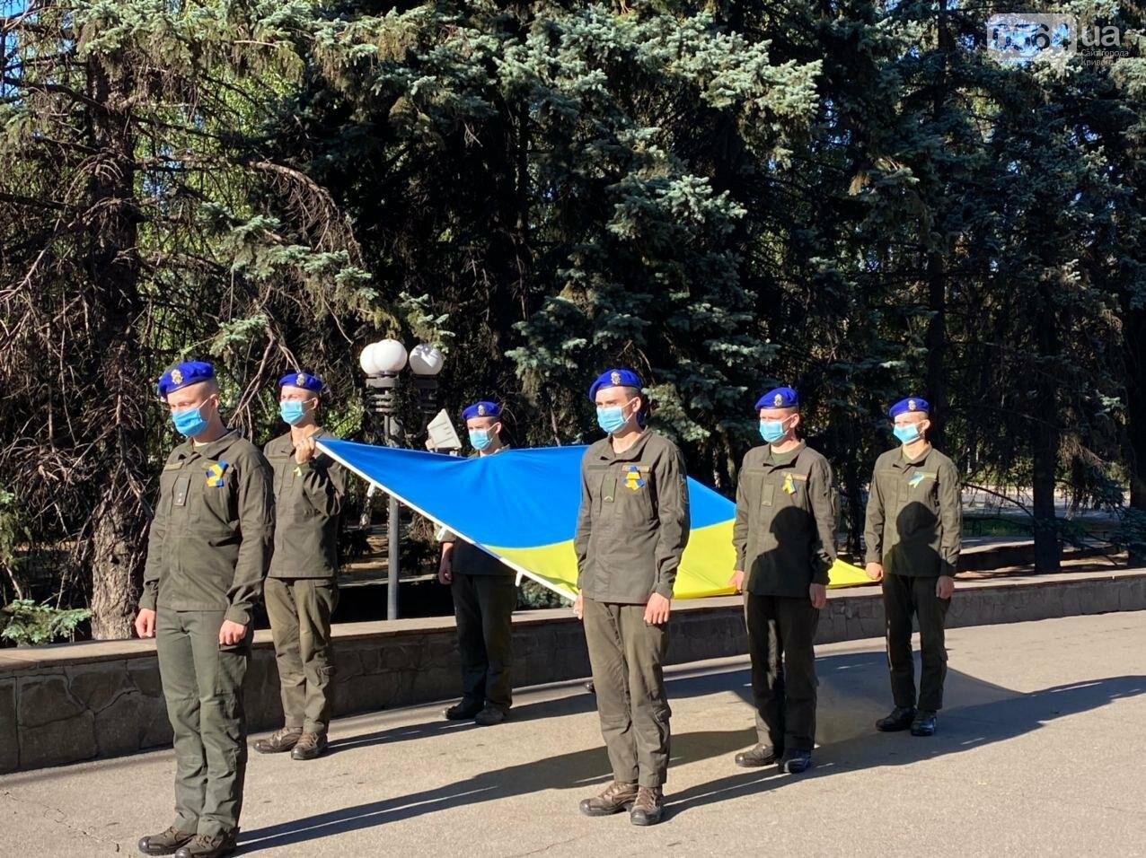 В Кривом Роге торжественно подняли Государственный Флаг Украины, - ФОТО, ВИДЕО, фото-3