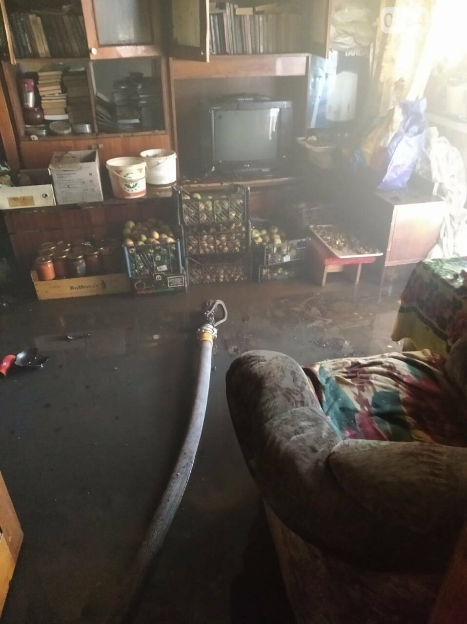 В Кривом Роге на пожаре в многоэтажке погиб 31-летний мужчина, - ФОТО, фото-1