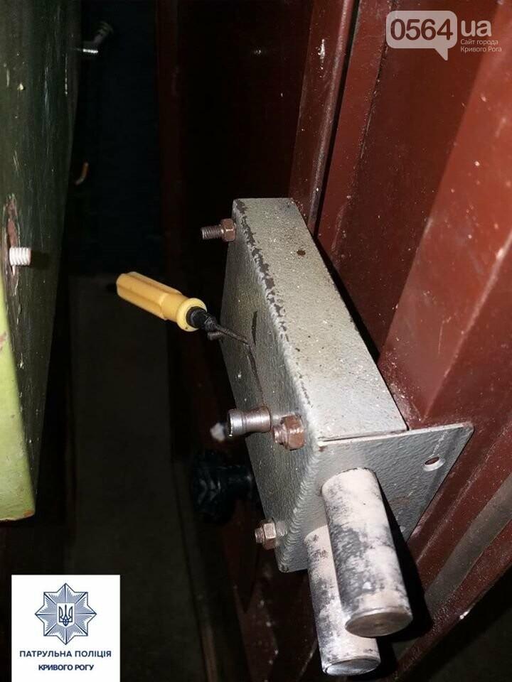 В Кривом Роге мужчина закрылся в чужой квартире, угрожая ножом и топором, - ФОТО , фото-2