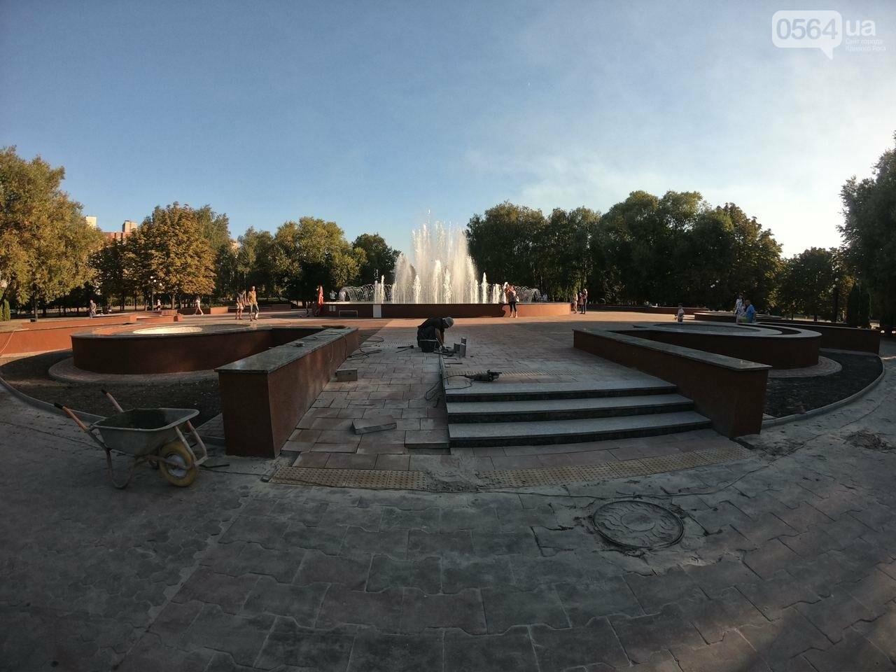 В Кривом Роге включили фонтан перед мэрией, - ФОТО, ВИДЕО , фото-25