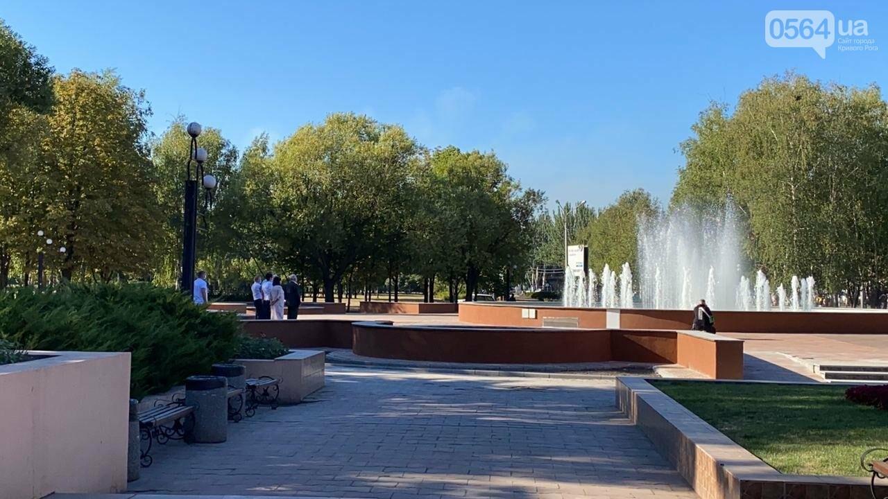 В Кривом Роге включили фонтан перед мэрией, - ФОТО, ВИДЕО , фото-22