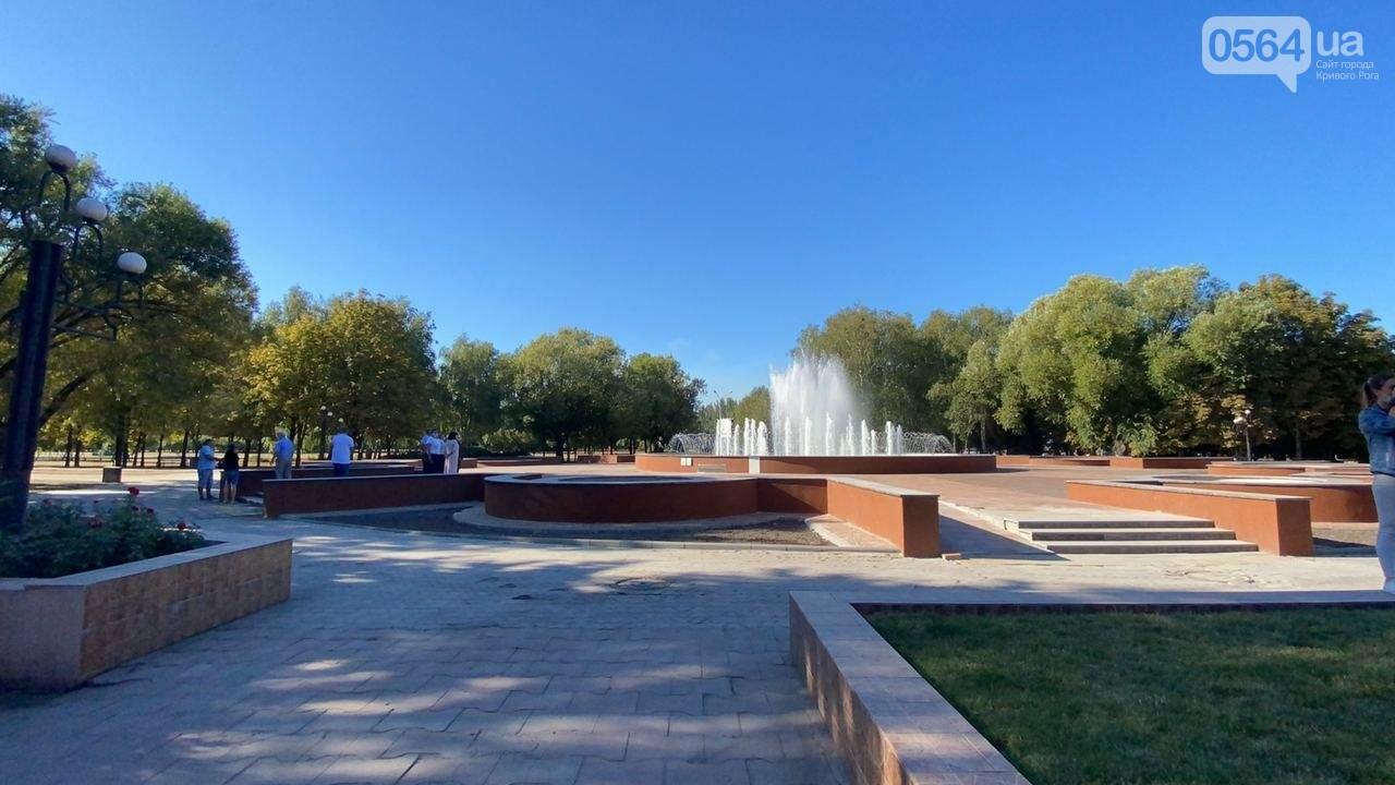 В Кривом Роге включили фонтан перед мэрией, - ФОТО, ВИДЕО , фото-21