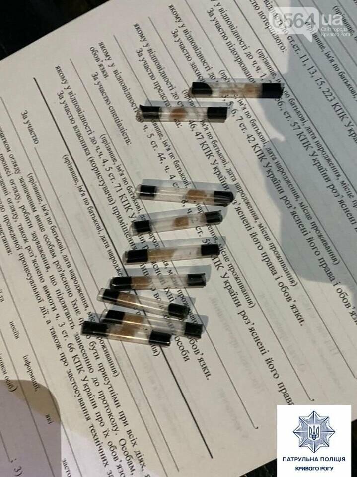 Ночью по Кривому Рогу разгуливал мужчина с наркотиками, - ФОТО , фото-2