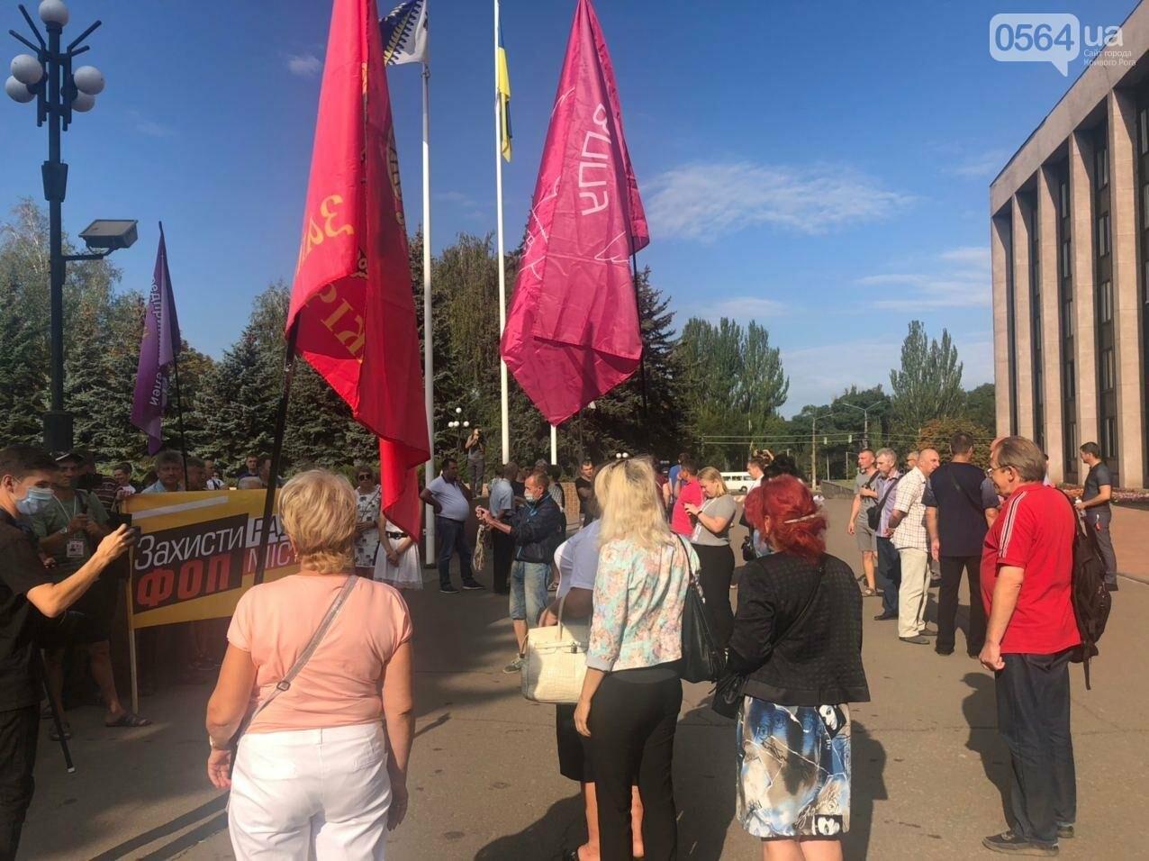 Криворожские предприниматели снова вышли на акцию, - ФОТО, фото-2