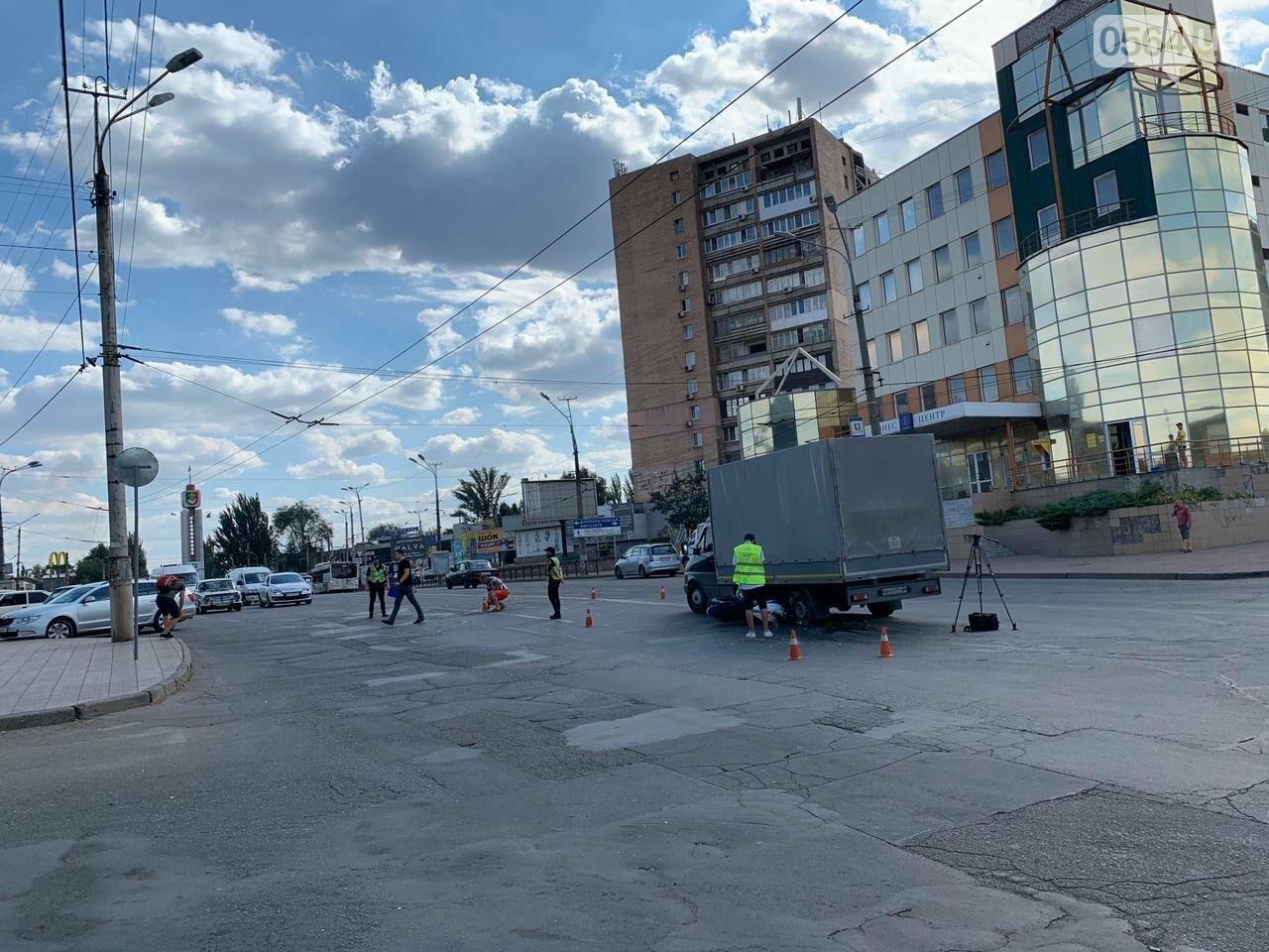 ДТП в Кривом Роге: мотоцикл попал под грузовик, - ФОТО , фото-1