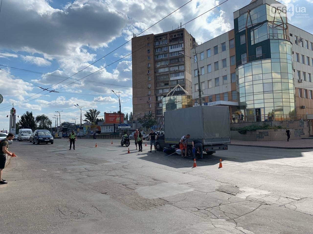 ДТП в Кривом Роге: мотоцикл попал под грузовик, - ФОТО , фото-6