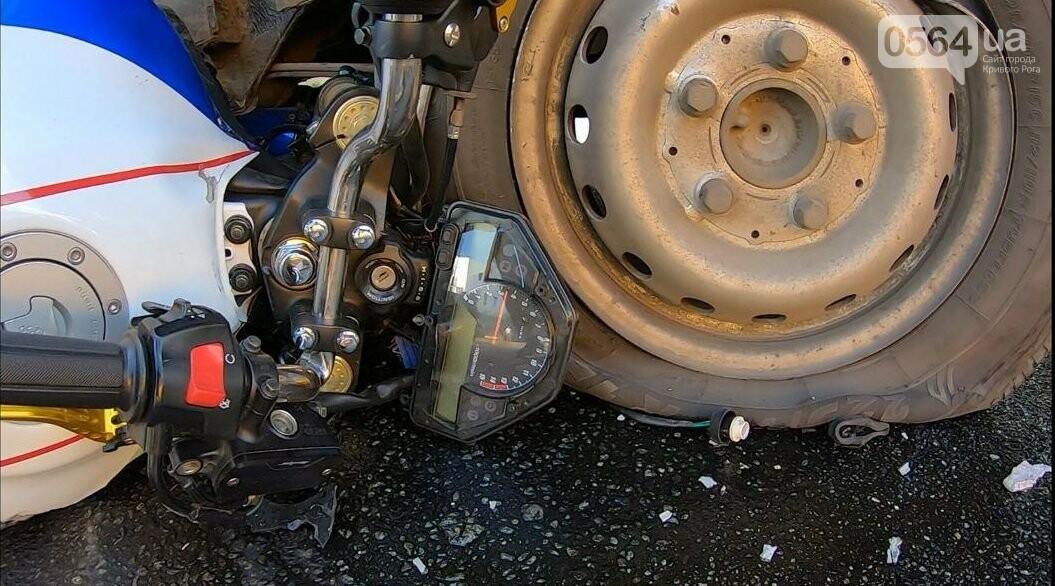 ДТП в Кривом Роге: мотоцикл попал под грузовик, - ФОТО , фото-5