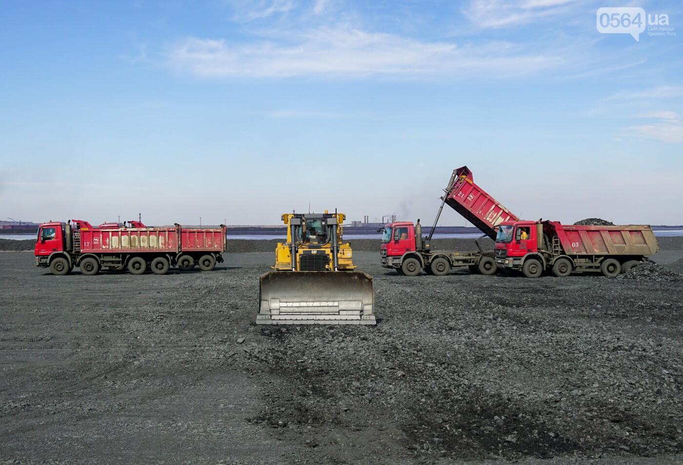 Северный горно-обогатительный комбинат Группы Метинвест эффективно применил отходы горного производства для консервации отработанных карт х..., фото-4
