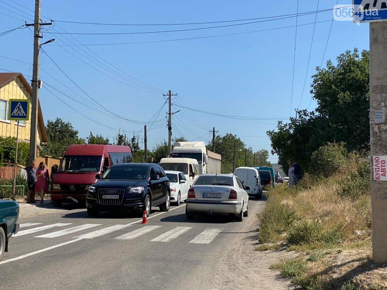 В Кривом Роге в результате лобового столкновения с маршруткой сгорел Lanos. Есть пострадавшие, - ФОТО , фото-8