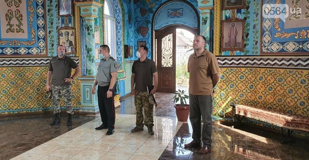 В Криворожской колонии проверили столовую, клуб для осужденных и храм, - ФОТО , фото-3