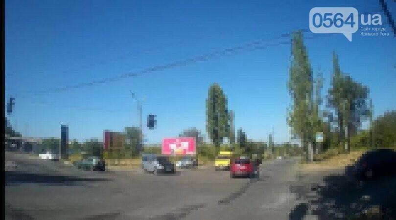 На объездной дороге в Кривом Роге не разъехались две иномарки, - ФОТО, фото-1