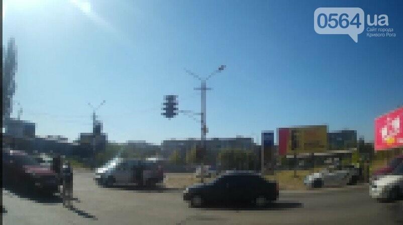 На объездной дороге в Кривом Роге не разъехались две иномарки, - ФОТО, фото-2
