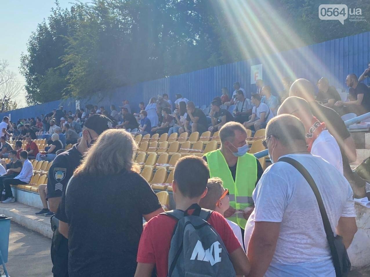 В Кривом Роге начался матч между ФК «Кривбасс» и ФК «Таврия»,  - ФОТО, ВИДЕО, фото-9