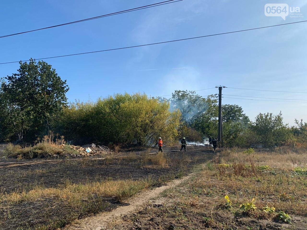В Кривом Роге возле частного сектора произошел пожар в экосистеме, - ФОТО , фото-7
