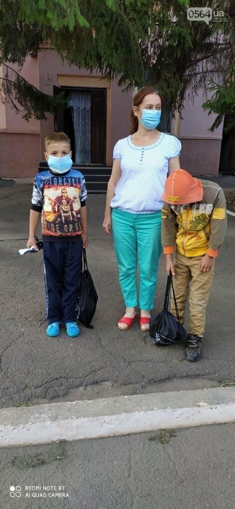 После смерти матери двоих детей забрали из запорожской школы-интерната в криворожский Центр реабилитации, - ФОТО , фото-2