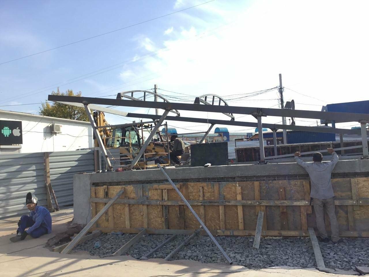 Как проходит реконструкция пешеходного перехода на улице Лермонтова в Кривом Роге, - ФОТО, фото-10