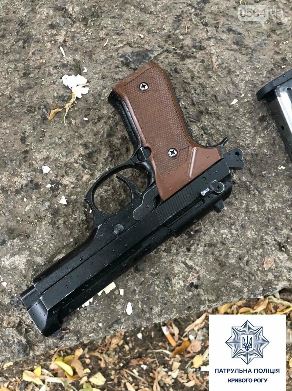 Криворожане указали копам на мужчину с пистолетом, - ФОТО , фото-1