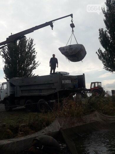 В Криворожском районе выпустили 1800 килограммов рыбы в Карачуновское водохранилище, - ФОТО , фото-5
