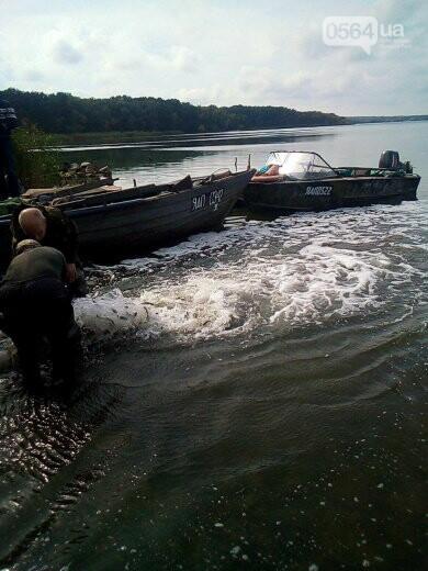 В Криворожском районе выпустили 1800 килограммов рыбы в Карачуновское водохранилище, - ФОТО , фото-2