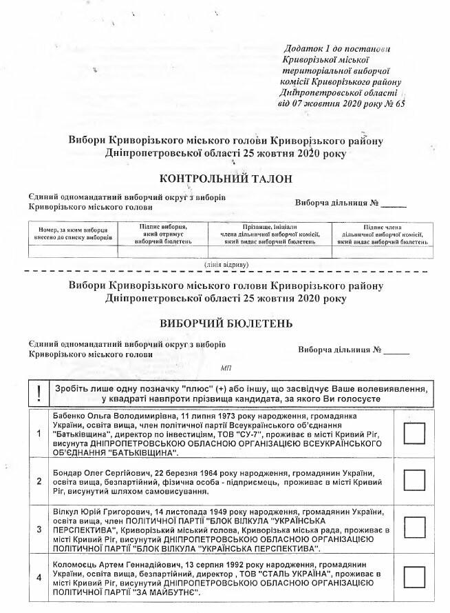 Криворожская ГИК утвердила тексты избирательных бюллетеней, - БЮЛЛЕТЕНИ, фото-18