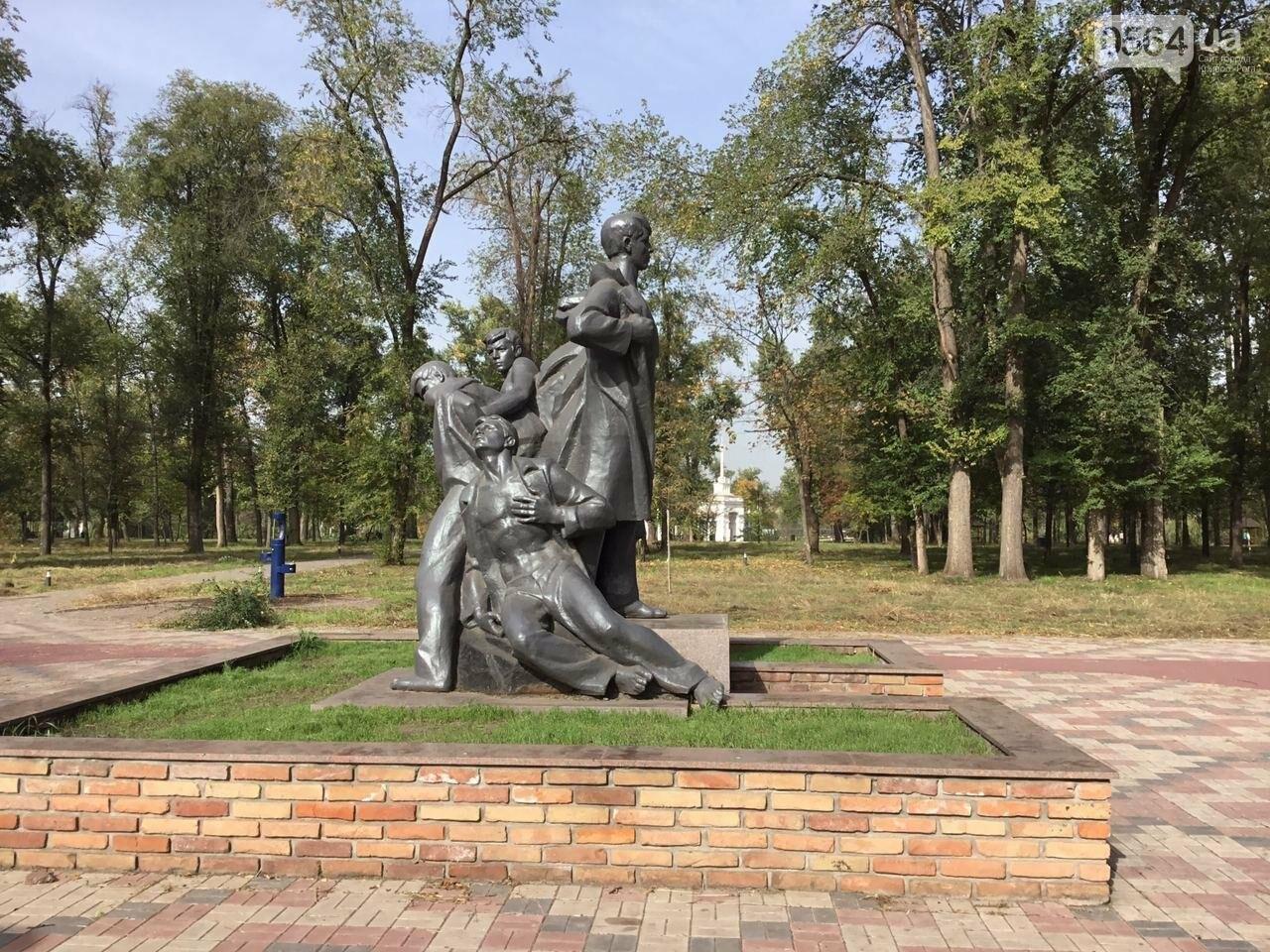 В Гданцевском парке наводят порядок. Как выглядит парк после покоса амброзии, - ФОТО, ВИДЕО, фото-45