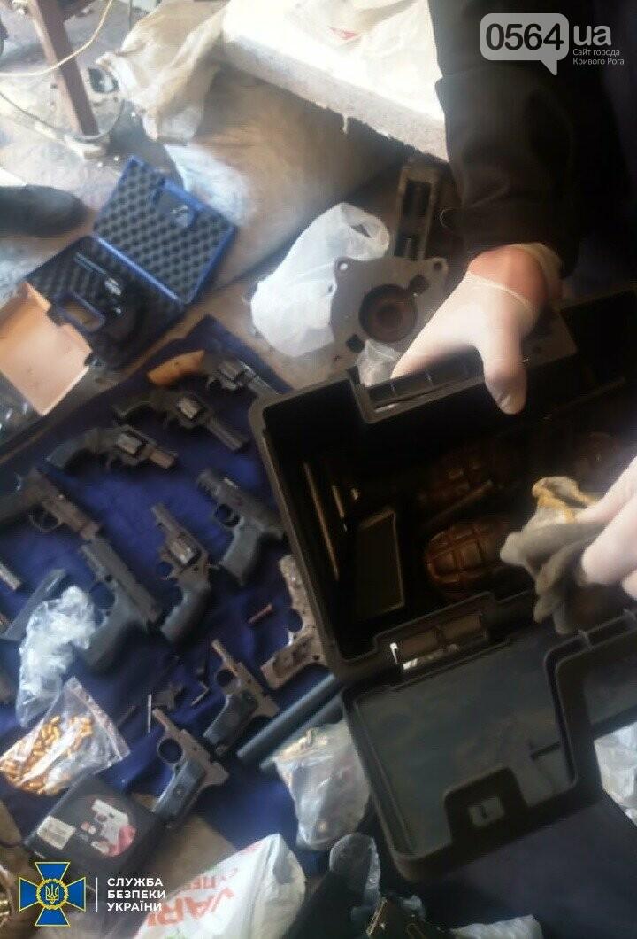 В Кривом Роге СБУ разоблачила межрегиональную организованную группировку торговцев оружием, - ФОТО, фото-8