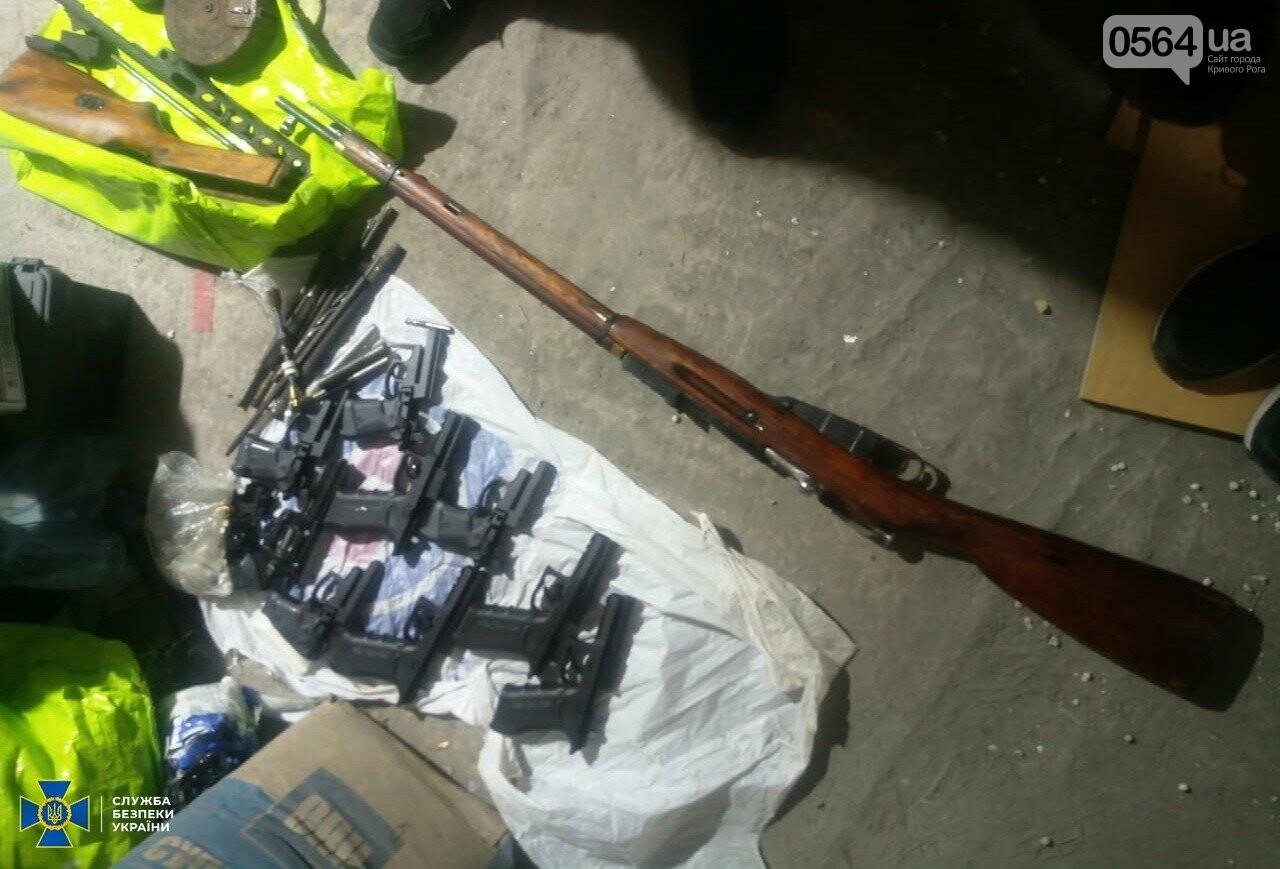 В Кривом Роге СБУ разоблачила межрегиональную организованную группировку торговцев оружием, - ФОТО, фото-4