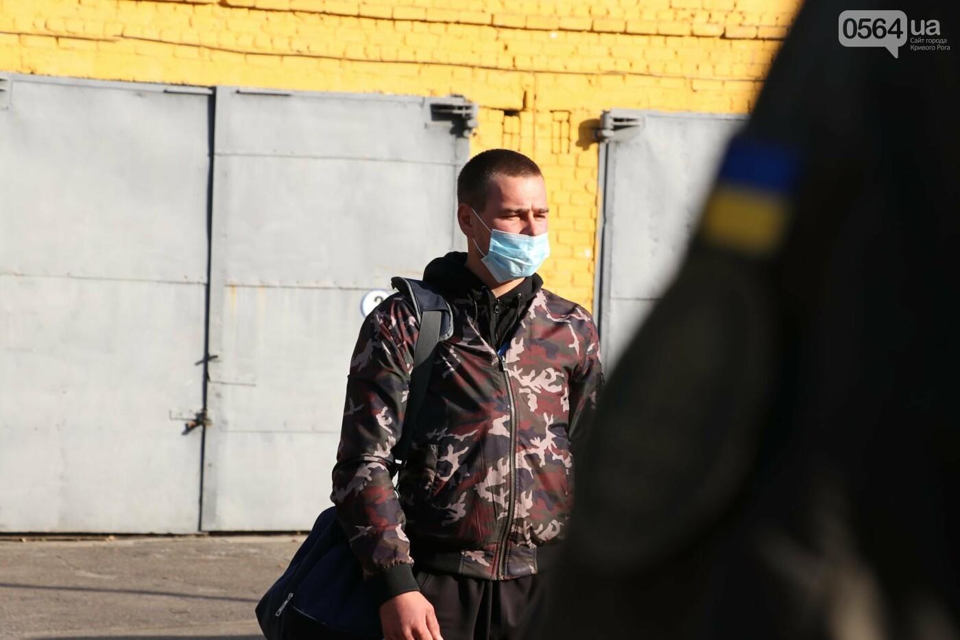 В Кривой Рог прибыли молодые бойцы из Черкасской области, - ФОТО , фото-2