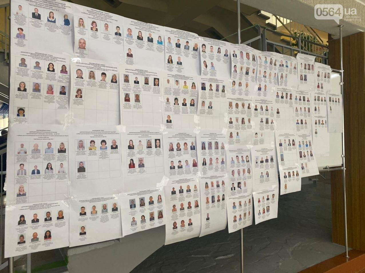 Как криворожане голосуют с учетом карантинных ограничений, - ФОТО, фото-5