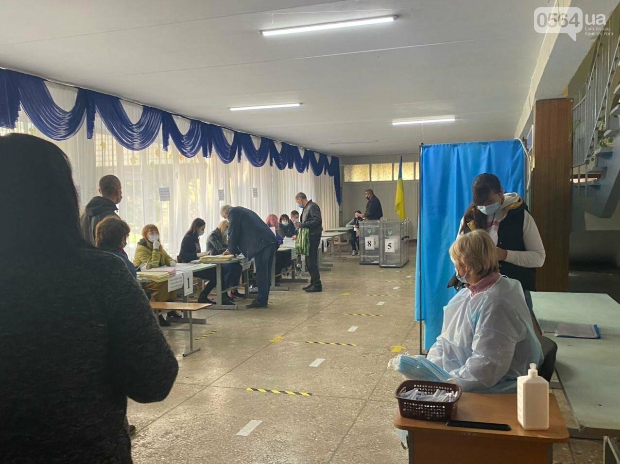Как криворожане голосуют с учетом карантинных ограничений, - ФОТО, фото-10
