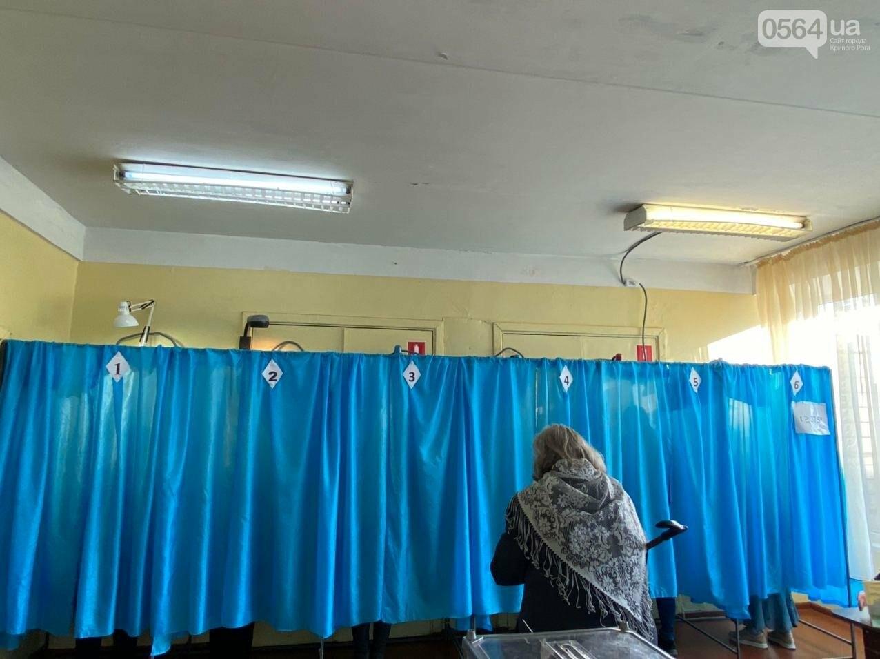 В Кривом Роге избиратель хотел проголосовать раньше времени, - ФОТО, ВИДЕО , фото-13
