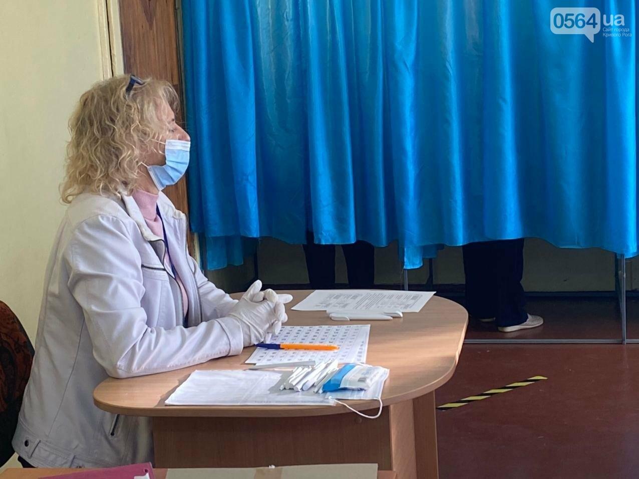 В Кривом Роге избиратель хотел проголосовать раньше времени, - ФОТО, ВИДЕО , фото-12