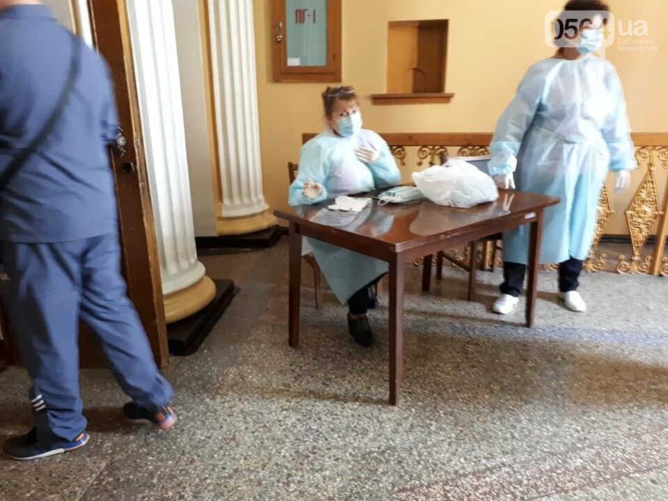 Криворожанка потеряла сознание в очереди на голосование, фото-4