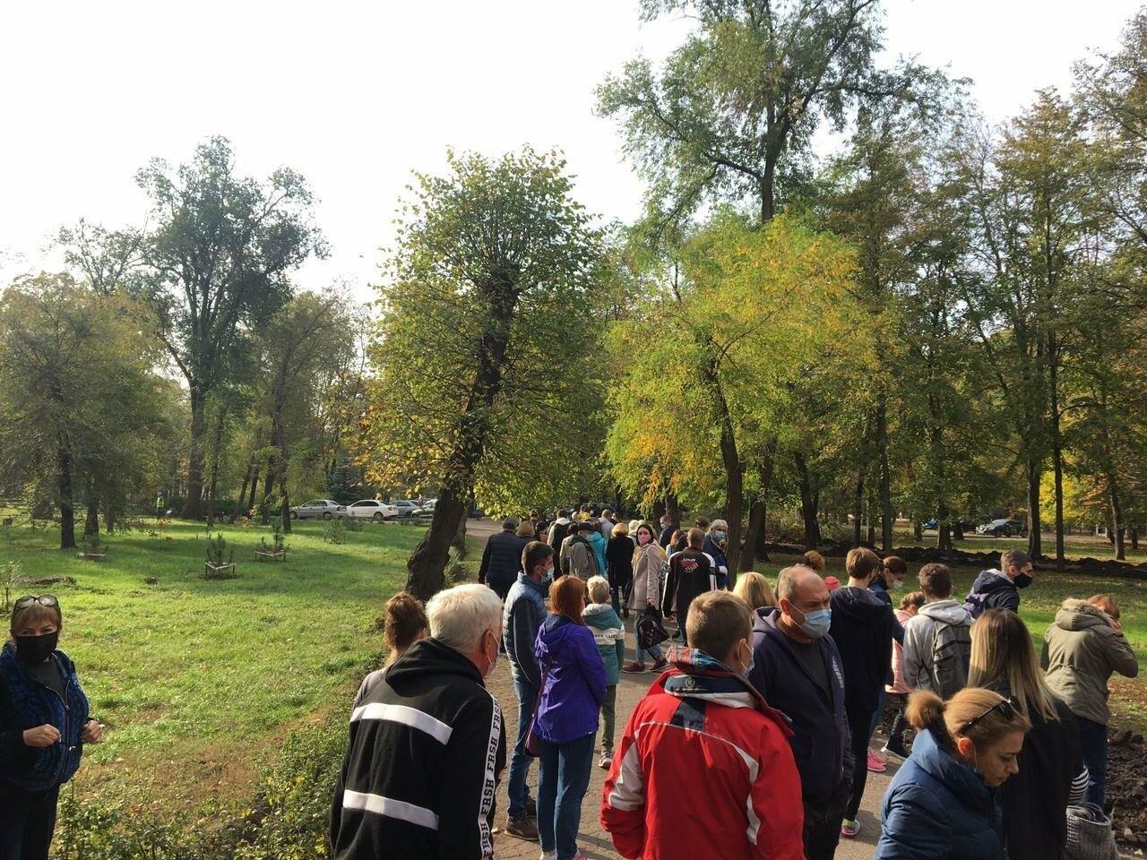Как выглядит парк, который благоустраивают криворожане, - ФОТО, ВИДЕО, фото-8