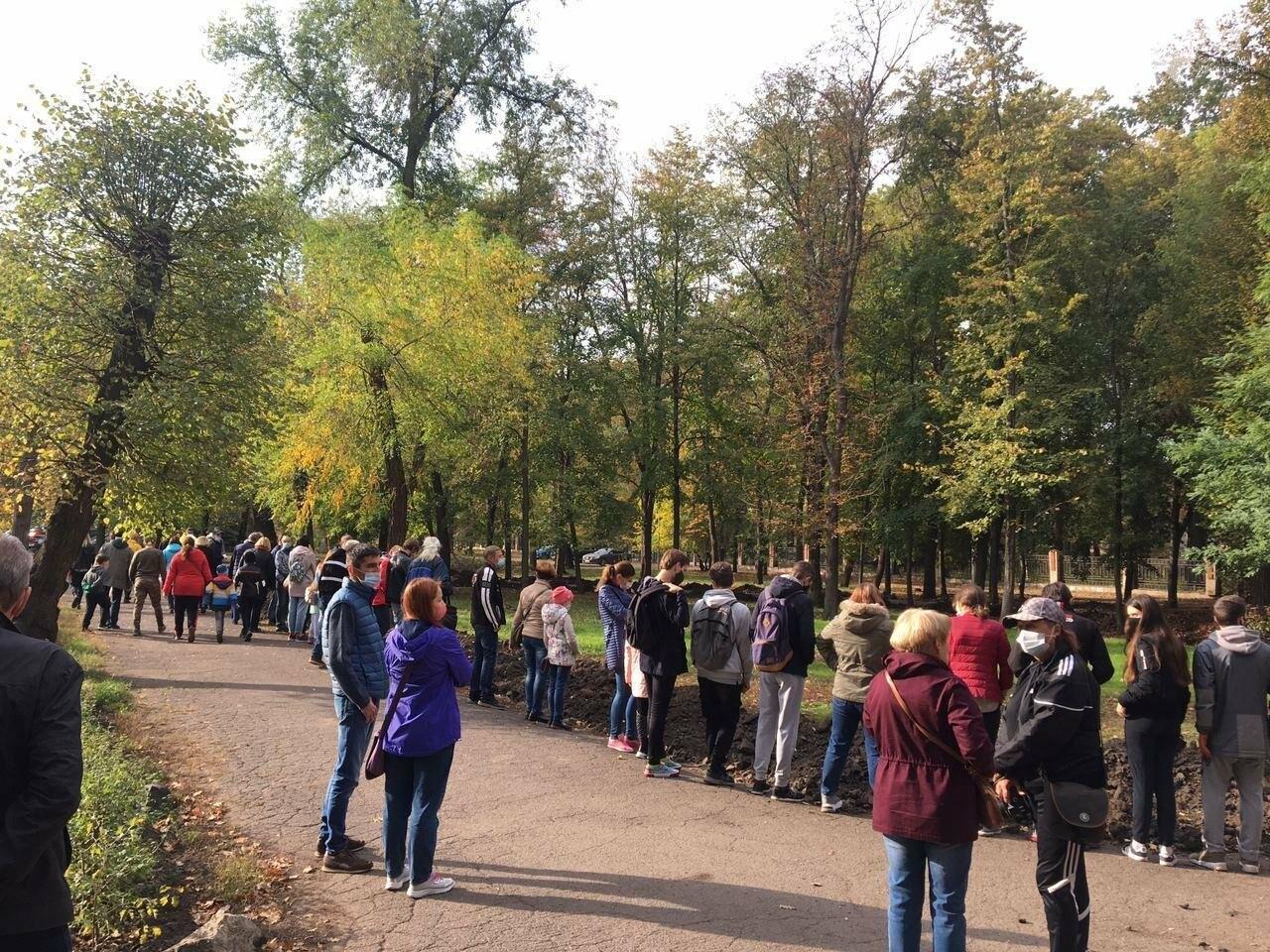 Как выглядит парк, который благоустраивают криворожане, - ФОТО, ВИДЕО, фото-10