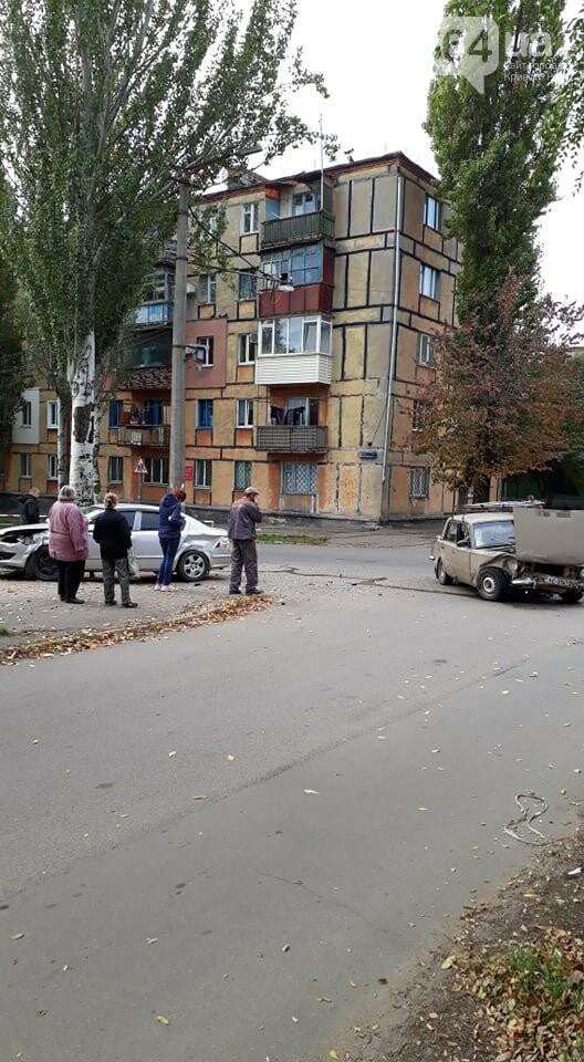 """На перекрестке Кривого Рога не разминулись """"ВАЗ"""" и """"Opel"""", - ФОТО , фото-2"""
