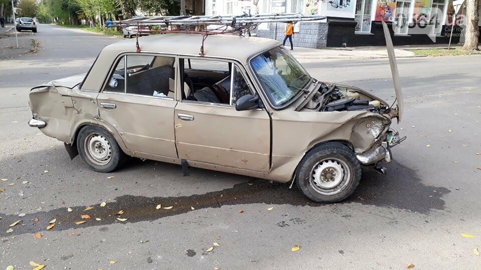 """На перекрестке Кривого Рога не разминулись """"ВАЗ"""" и """"Opel"""", - ФОТО , фото-7"""