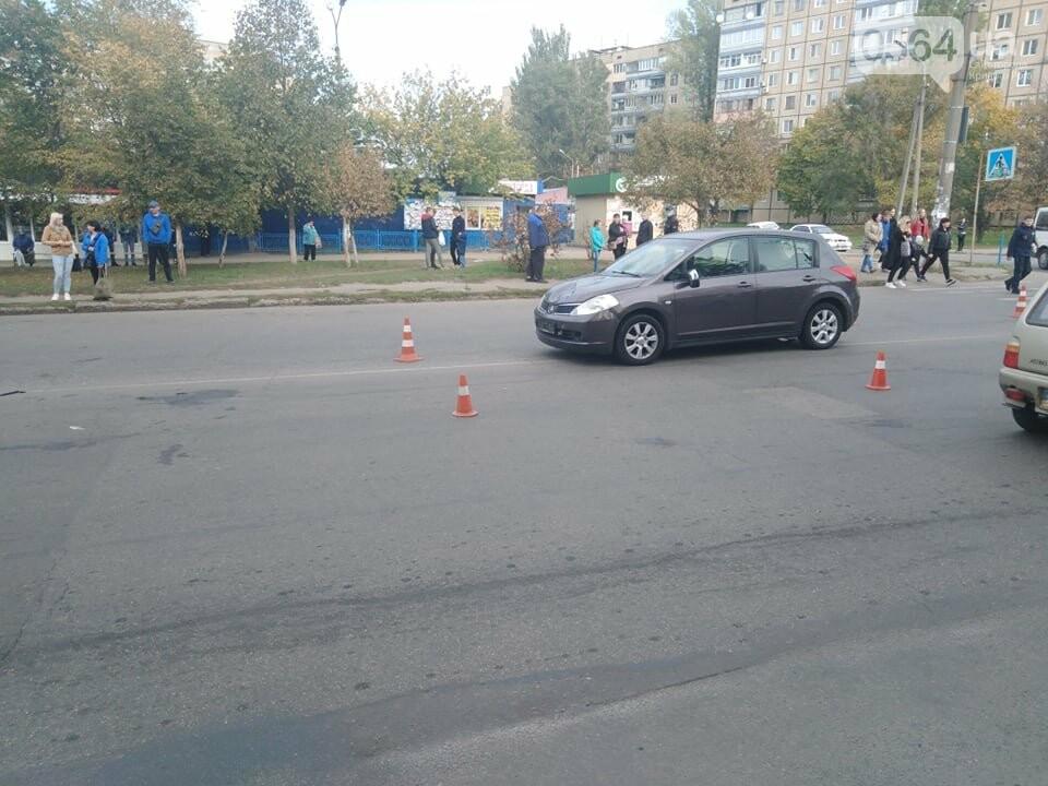 В Кривом Роге Nissan сбил двоих детей на пешеходном переходе, - ФОТО, ВИДЕО , фото-1