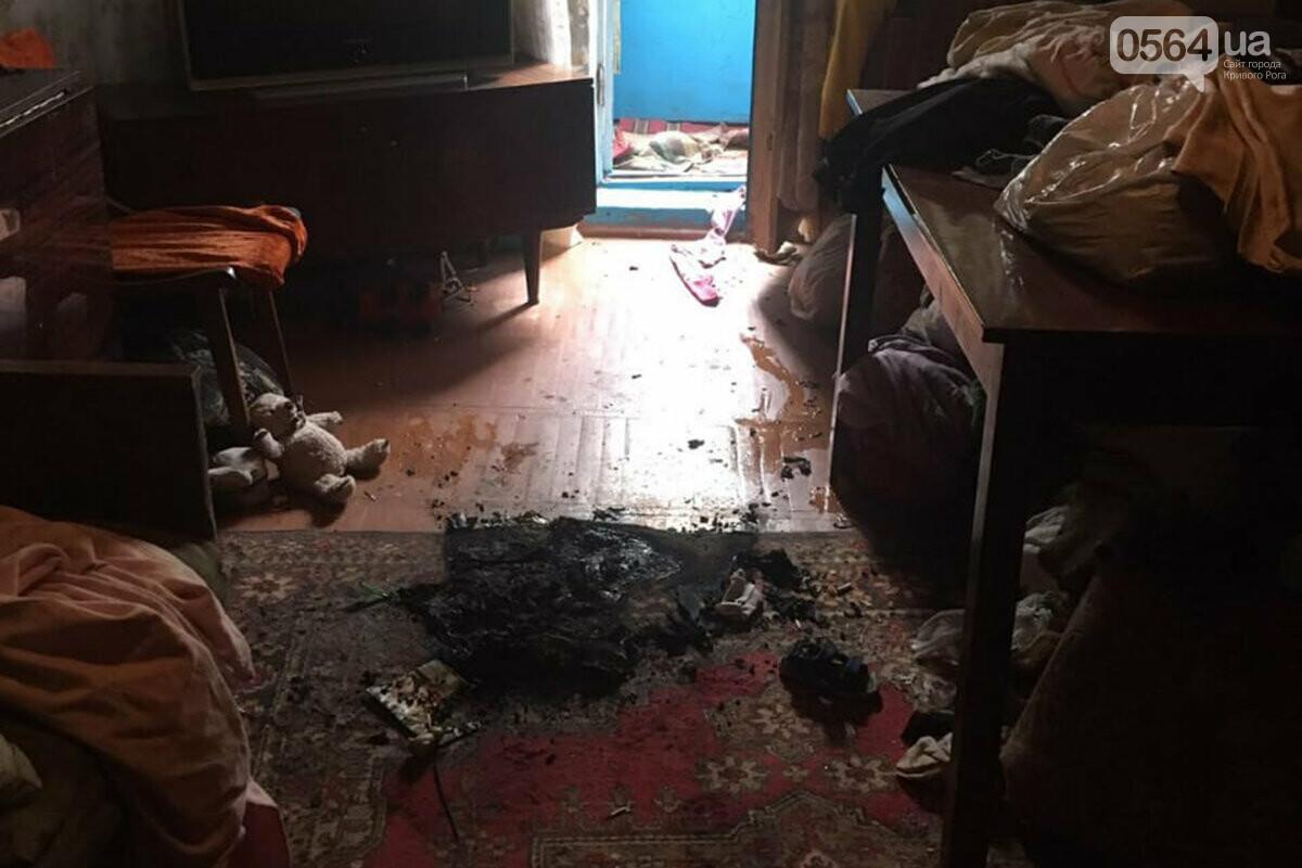 """""""Детская шалость с огнем"""" могла стать причиной пожара в Кривом Роге, где пострадали двое малышей, - ФОТО, фото-1"""
