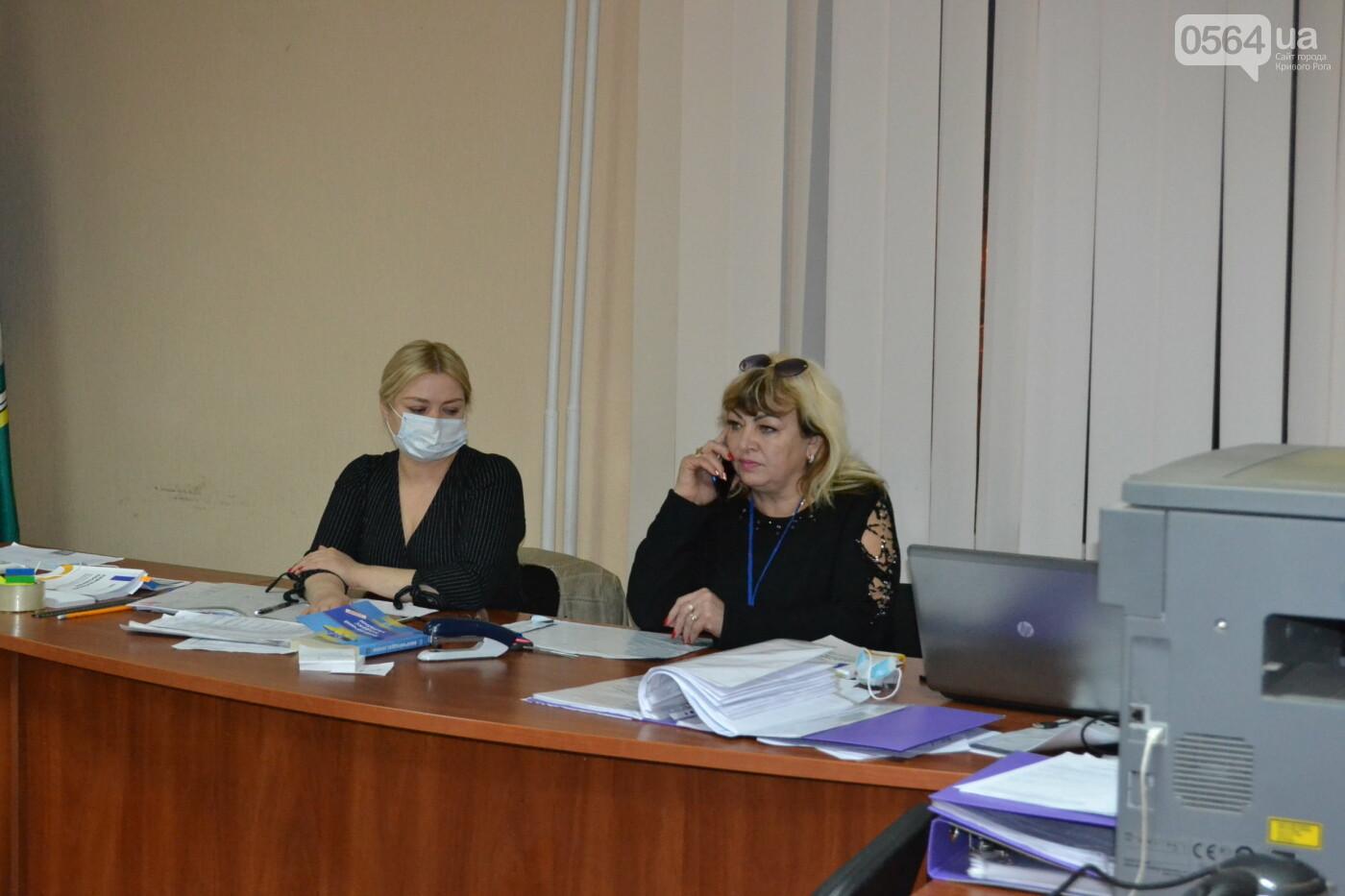 Криворожская РИК продолжает принимать протоколы об итогах голосования на выборах в райсовет, - ФОТО, фото-1