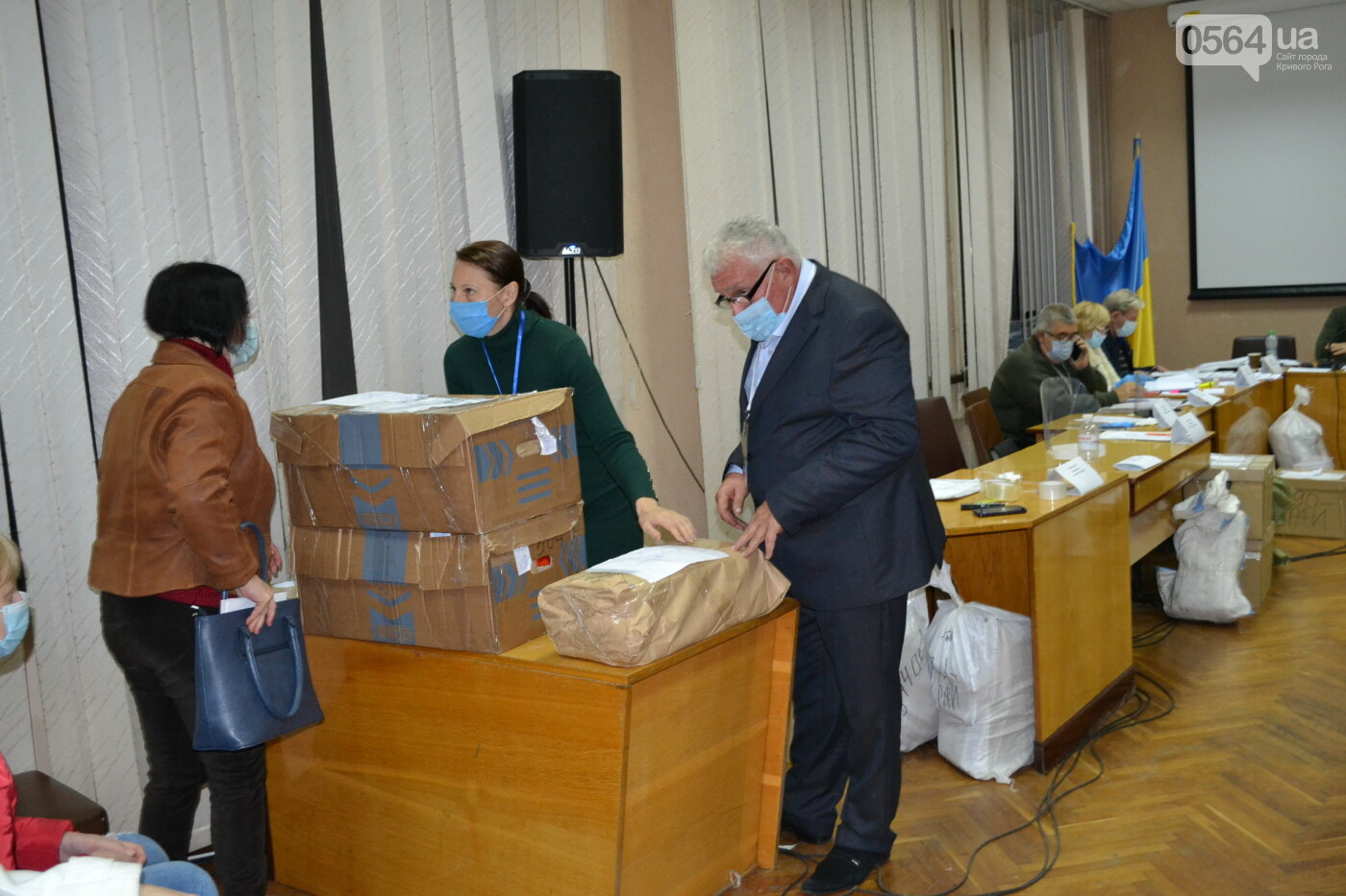 Криворожская ГИК приняла более 72% протоколов по выборам депутатов облсовета, - ФОТО, фото-17