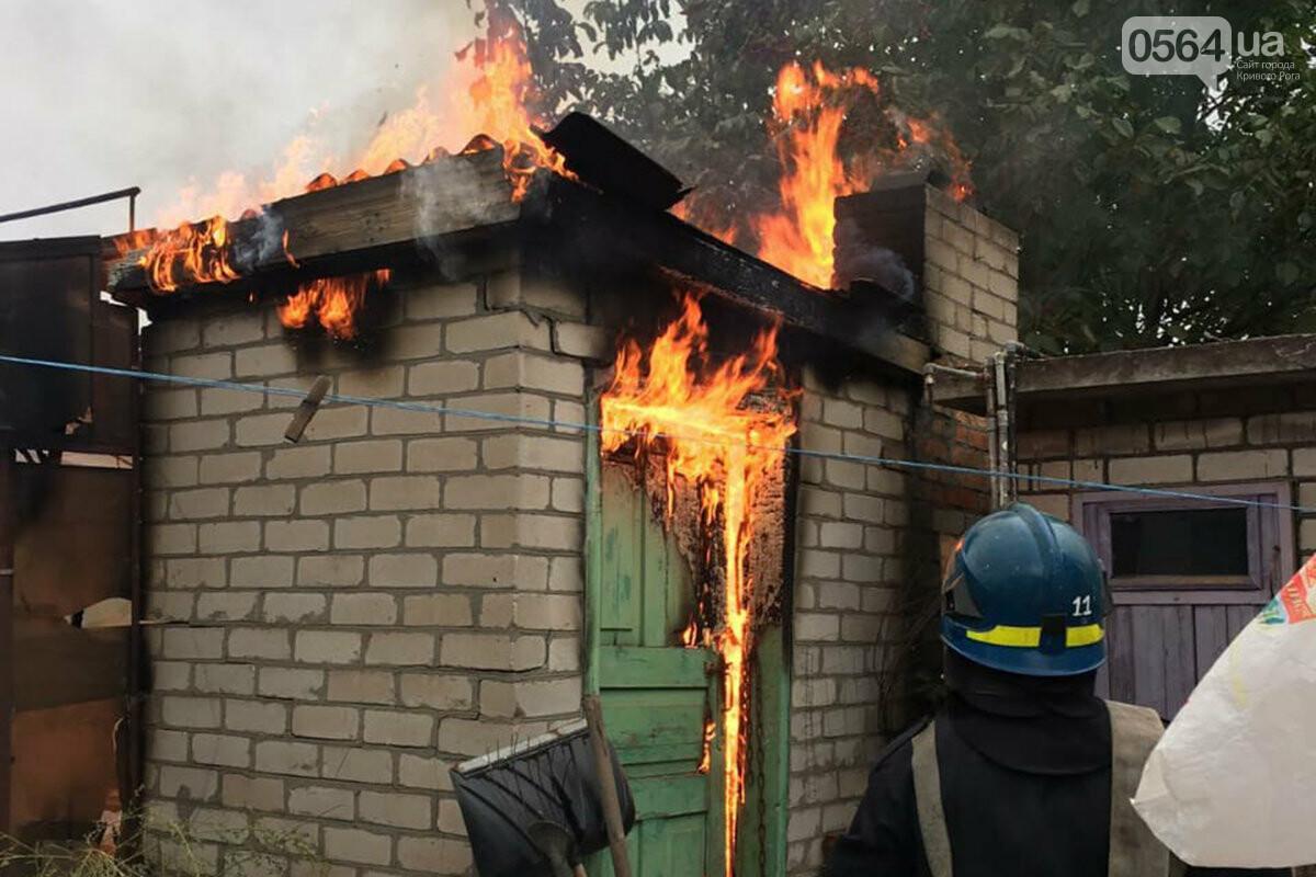 В Кривом Роге сгорели дрова и садовый инвентарь, - ФОТО , фото-4