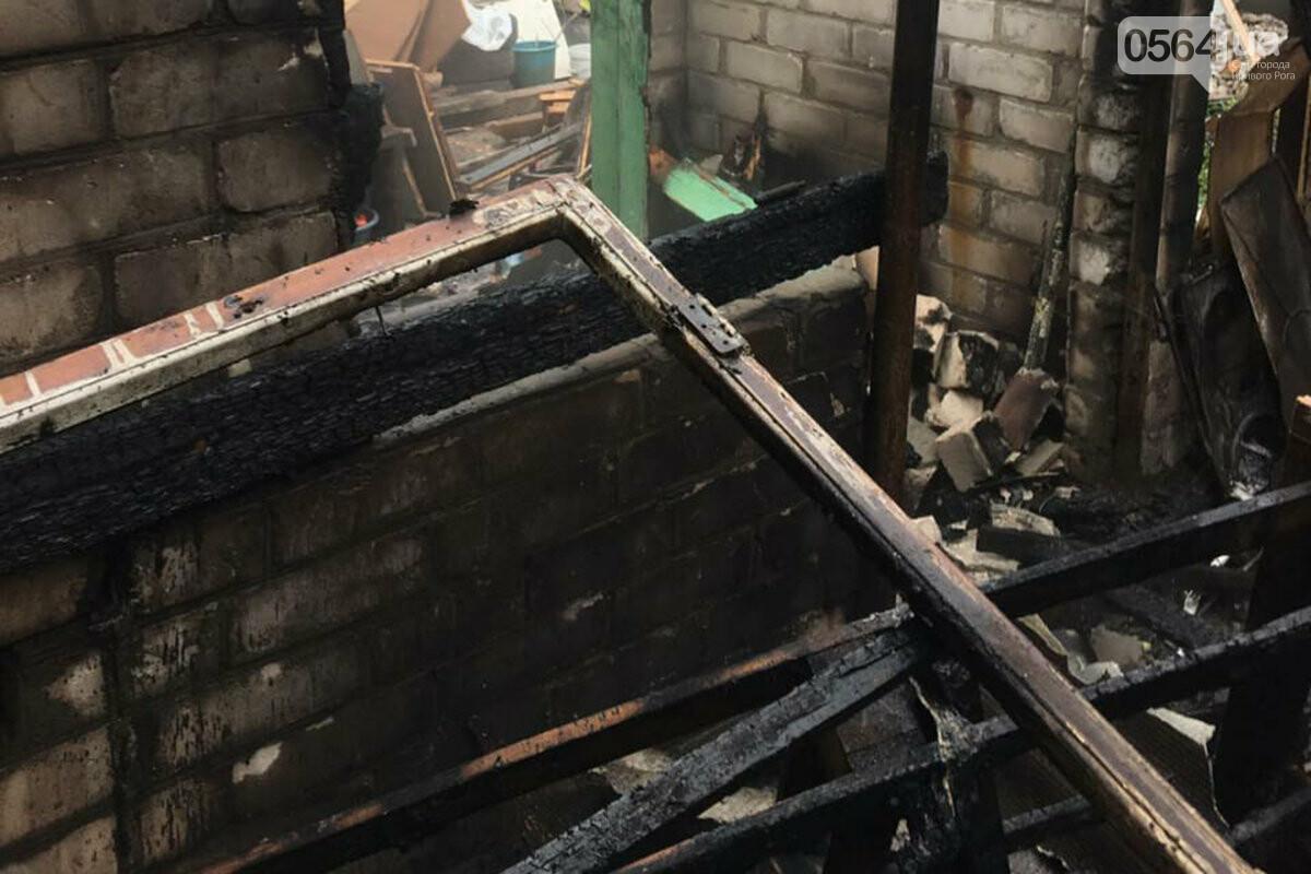 В Кривом Роге сгорели дрова и садовый инвентарь, - ФОТО , фото-2
