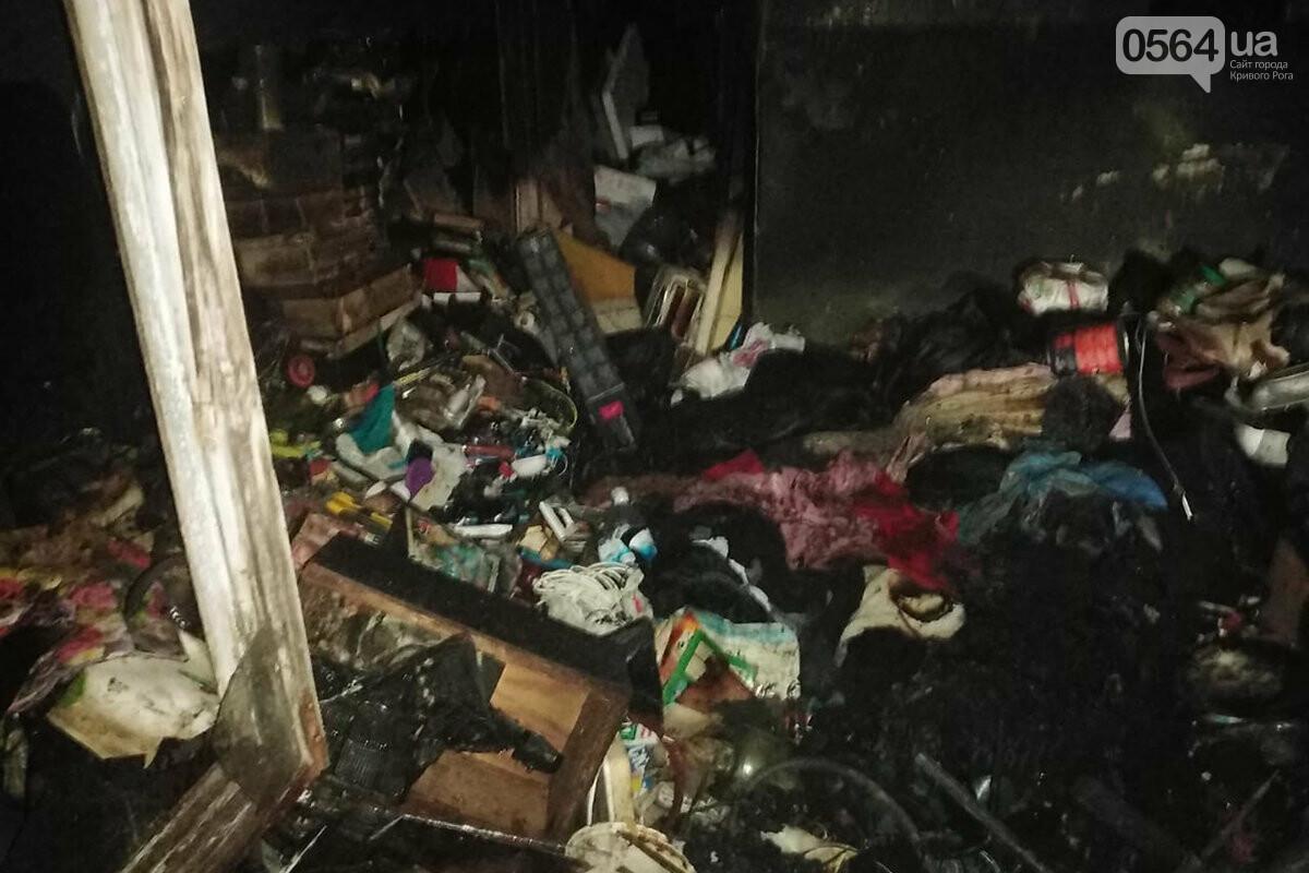 Из горящей квартиры спасатели вынесли через окно 82-летнего криворожанина, - ФОТО , фото-1